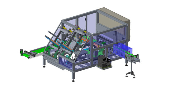Case packer machine